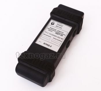 Индикатор дефектов подшипников электрических машин ИДП-06 - задняя панель
