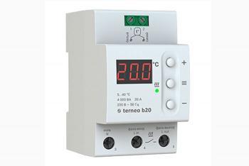 Фото терморегулятора terneo b20